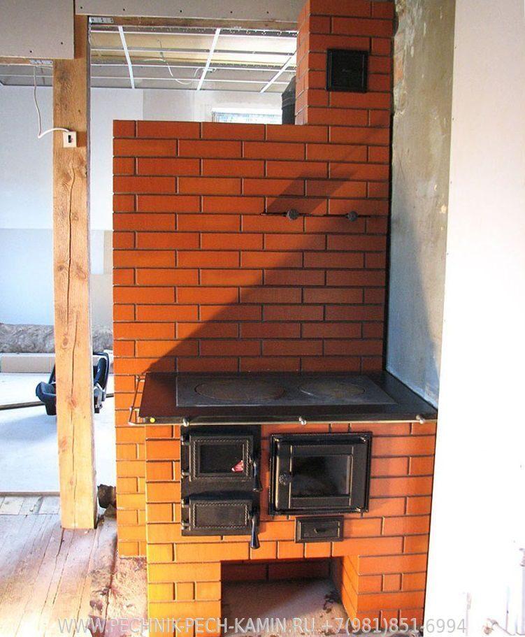 Варочная кирпичная печь в летней кухне своими руками 5