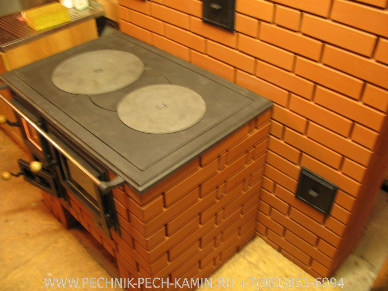 Печь плита дом своими руками